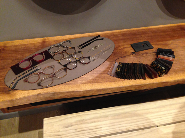 Eyewear Concierge bespoke glasses samples