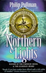 The cover of Northern Lights by Philip Pulllman to illustrate a post on favourite children's authors