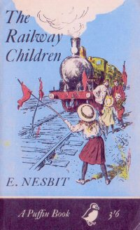 The cover of The Railway Children by E Nesbit to illustrated a post on favourite children's authors