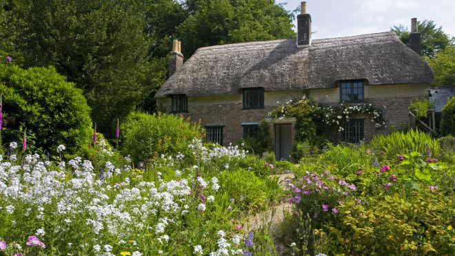 Photograph of Thomas Hardy's cottage