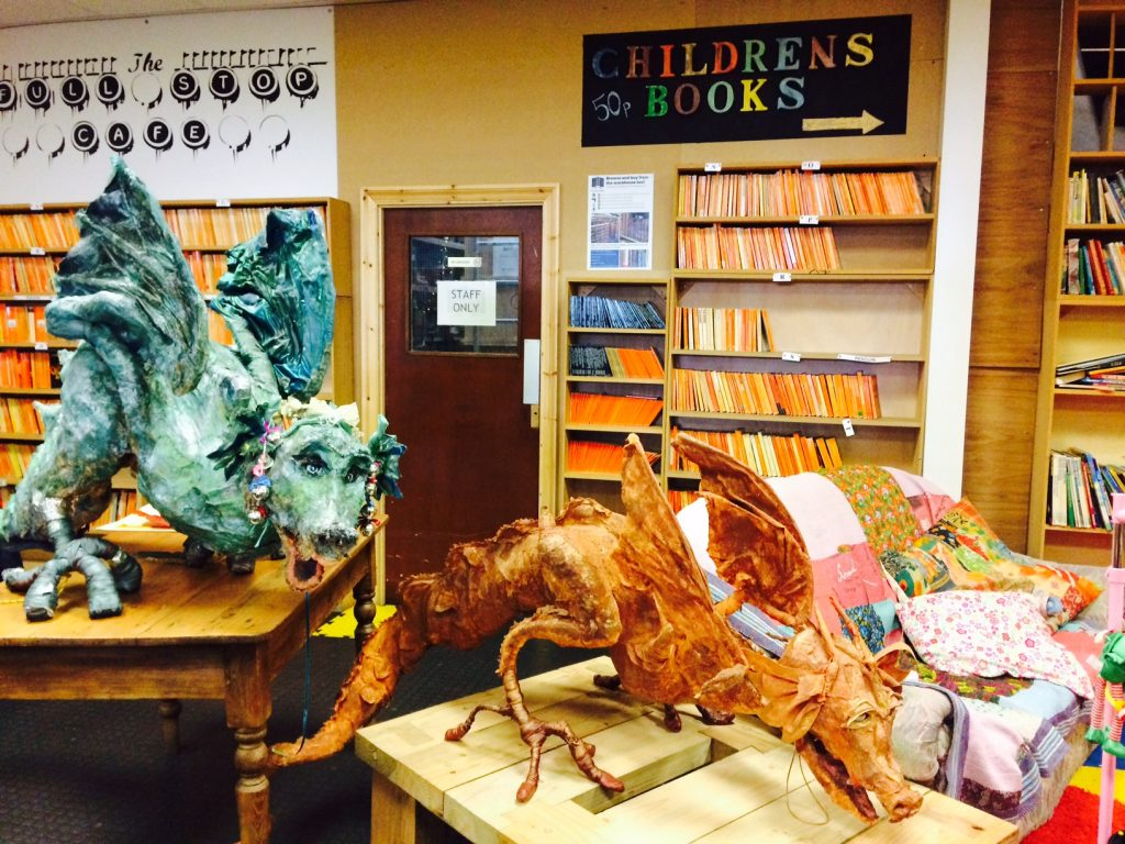 Children's section at Bookbarn International